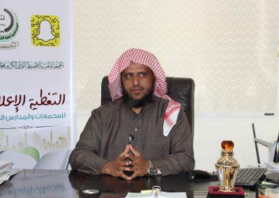 مدير المجمع الاستاذ فهد الشبعان